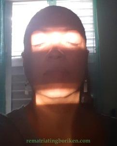 Yaz eyes in sunlight