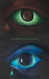 Bioluminescent eyes